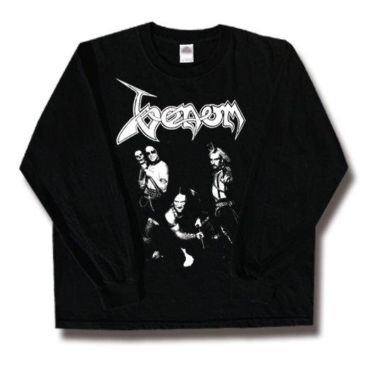 Venom / ヴェノム - Band. ロングスリーブTシャツ【お取寄せ】
