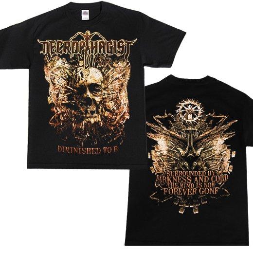 Necrophagist / ネクロファジスト - Diminished To B. Tシャツ【お取寄せ】
