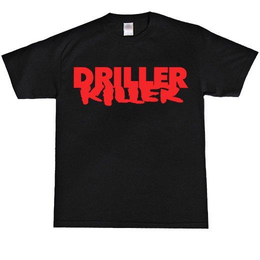 Driller Killer / ドリラー・キラー - Logo. Tシャツ【お取寄せ】