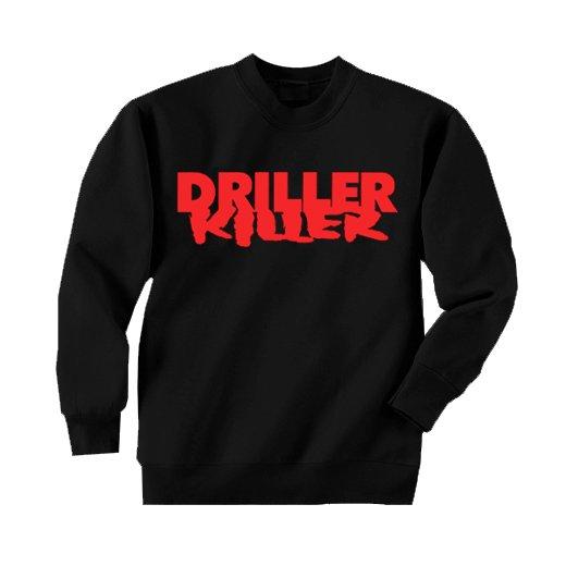 Driller Killer / ドリラー・キラー - Logo. トレーナー【お取寄せ】