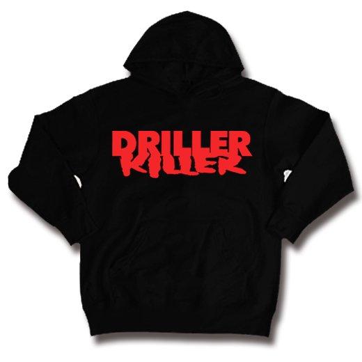 Driller Killer / ドリラー・キラー - Logo. パーカー【お取寄せ】