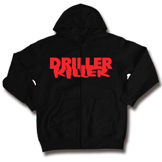 Driller Killer / ドリラー・キラー - Logo. ジップアップパーカー【お取寄せ】