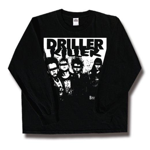 Driller Killer / ドリラー・キラー - Brutalize. ロングスリーブTシャツ【お取寄せ】