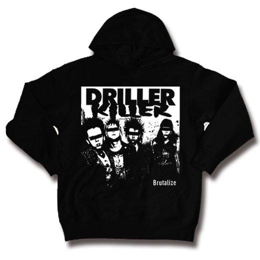 Driller Killer / ドリラー・キラー - Brutalize. パーカー【お取寄せ】
