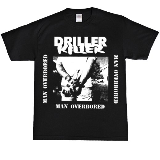 Driller Killer / ドリラー・キラー - Man Overboard. Tシャツ【お取寄せ】