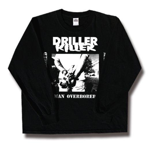 Driller Killer / ドリラー・キラー - Man Overboard. ロングスリーブTシャツ【お取寄せ】