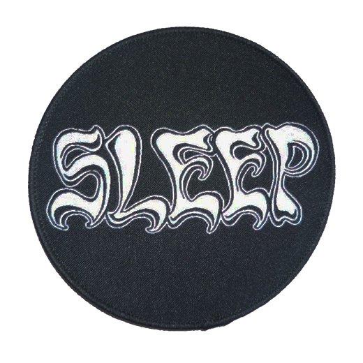 Sleep / スリープ - Logo. パッチ【お取寄せ】