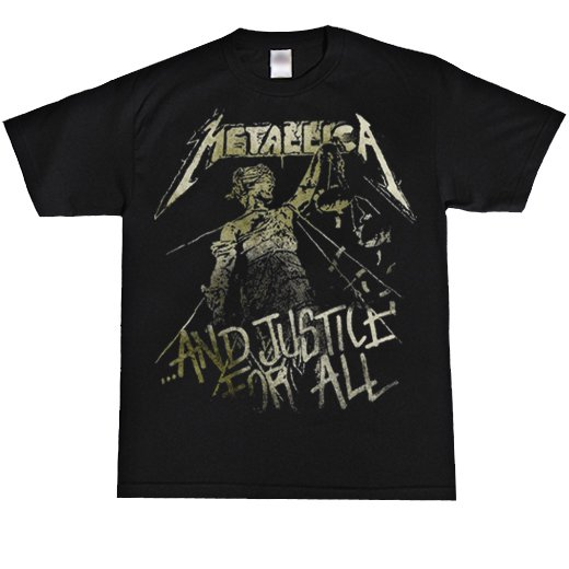 <img class='new_mark_img1' src='https://img.shop-pro.jp/img/new/icons1.gif' style='border:none;display:inline;margin:0px;padding:0px;width:auto;' />Metallica / メタリカ - And  Justice For All. Tシャツ【お取寄せ】