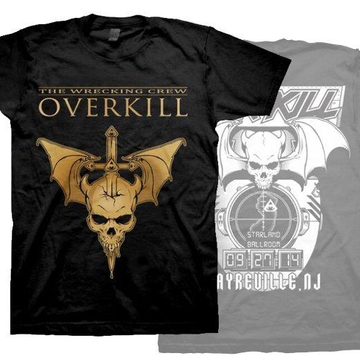 Overkill / オーヴァーキル - WDA Tour Sayreville, NJ. Tシャツ【お取寄せ】