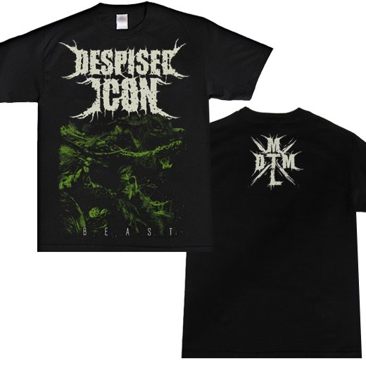 Despised Icon / ディスパイズド・アイコン - Beast. Tシャツ【お取寄せ】