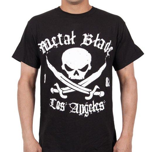 Metal Blade Records / メタル・ブレイド・レコーズ - Pirate (Black). Tシャツ【お取寄せ】