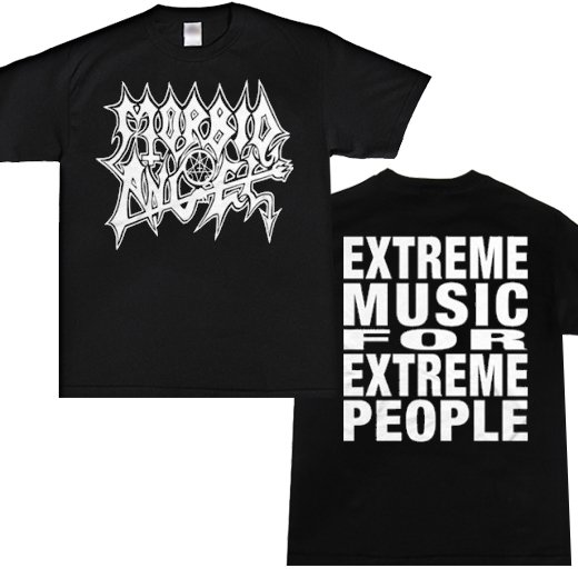 Morbid Angel / モービッド・エンジェル - Extreme Music For Extreme People. Tシャツ【お取寄せ】