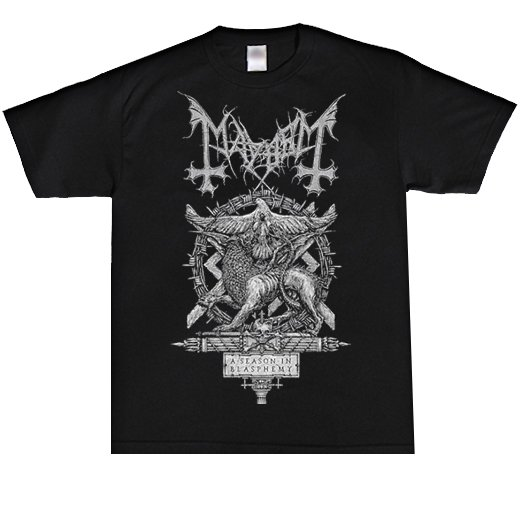 Mayhem / メイヘム - A Season of Blasphemy. Tシャツ【お取寄せ】