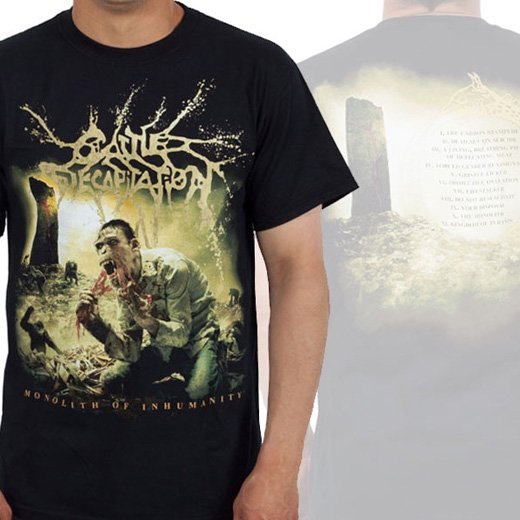 Cattle Decapitation / キャトル・ディキャピテイション - Monolith of Inhumanity. Tシャツ【お取寄せ】