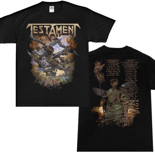 Testament / テスタメント - Formation Of Damnation 2016. Tシャツ【お取寄せ】