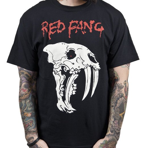 Red Fang / レッド・ファング - Fang. Tシャツ【お取寄せ】