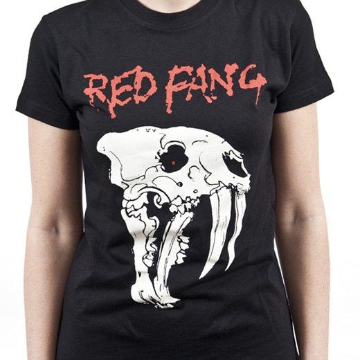 Red Fang / レッド・ファング - Fang. レディースTシャツ【お取寄せ】