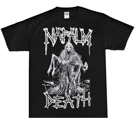 Napalm Death / ナパーム・デス - Reaper. Tシャツ【お取寄せ】