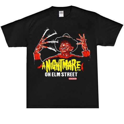 <img class='new_mark_img1' src='//img.shop-pro.jp/img/new/icons1.gif' style='border:none;display:inline;margin:0px;padding:0px;width:auto;' />A Nightmare on Elm Street / エルム街の悪夢. Tシャツ【お取寄せ】