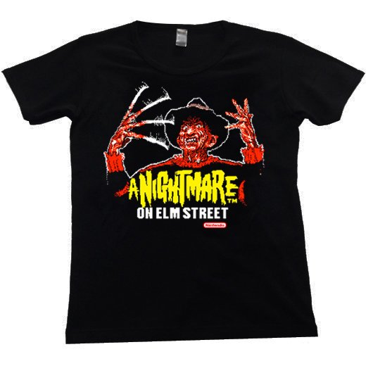 <img class='new_mark_img1' src='//img.shop-pro.jp/img/new/icons1.gif' style='border:none;display:inline;margin:0px;padding:0px;width:auto;' />A Nightmare on Elm Street / エルム街の悪夢. レディースTシャツ【お取寄せ】