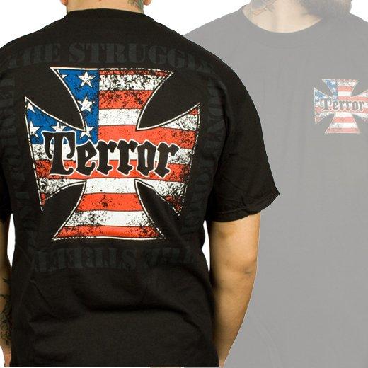 Terror / テラー - The Struggle (Black). Tシャツ【お取寄せ】