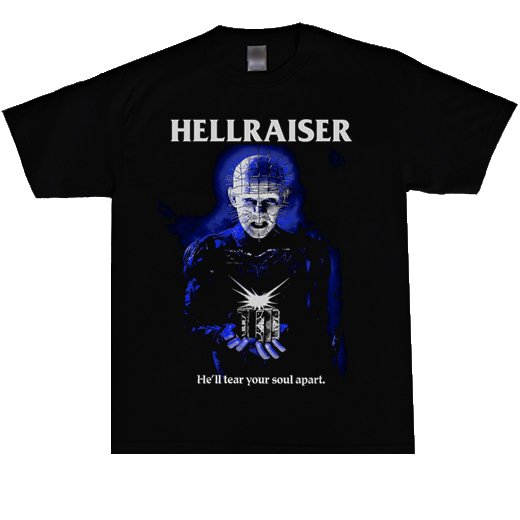 <img class='new_mark_img1' src='https://img.shop-pro.jp/img/new/icons1.gif' style='border:none;display:inline;margin:0px;padding:0px;width:auto;' />Hellraiser / ヘルレイザー - Pinhead. Tシャツ【お取寄せ】