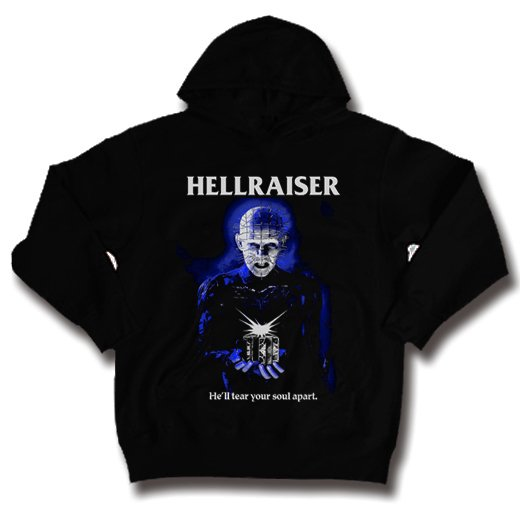 <img class='new_mark_img1' src='https://img.shop-pro.jp/img/new/icons1.gif' style='border:none;display:inline;margin:0px;padding:0px;width:auto;' />Hellraiser / ヘルレイザー - Pinhead. パーカー【お取寄せ】