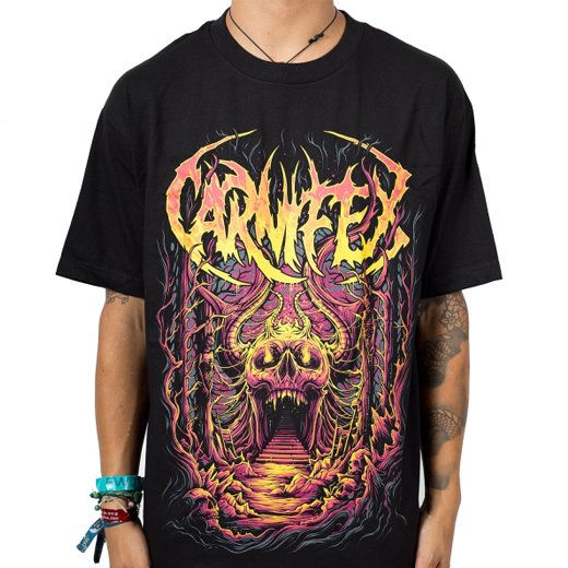 Carnifex / カーニフェックス - Skull Cave. Tシャツ【お取寄せ】