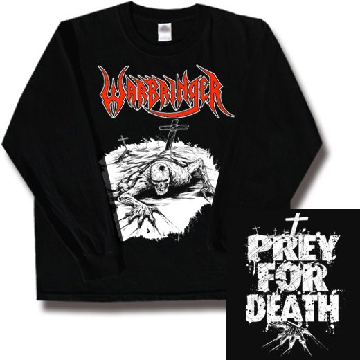 Warbringer / ウォーブリンガー - Prey For Death. ロングスリーブTシャツ【お取寄せ】