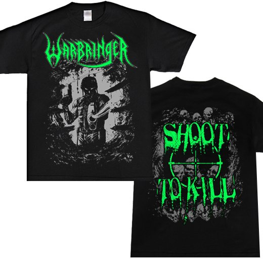 Warbringer / ウォーブリンガー - Shoot To Kill. Tシャツ【お取寄せ】