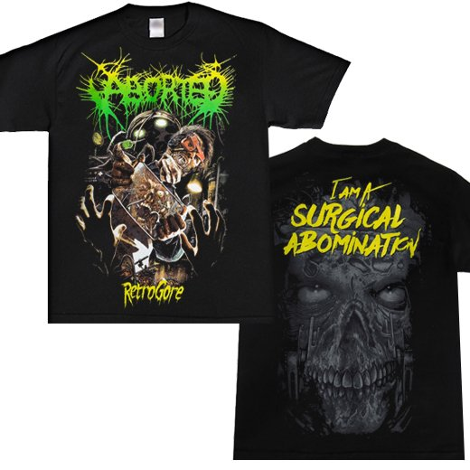 Aborted / アボーテッド - Surgical Abomination. Tシャツ【お取寄せ】