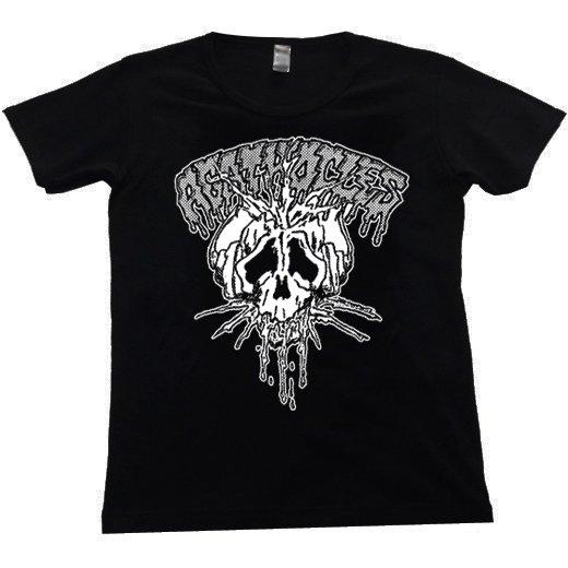 Agathocles / アガソクレス - Skull. レディースTシャツ【お取寄せ】
