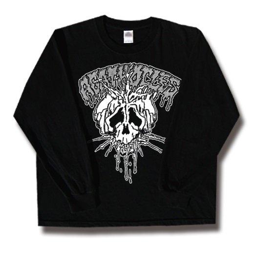 Agathocles / アガソクレス - Skull. ロングスリーブTシャツ【お取寄せ】