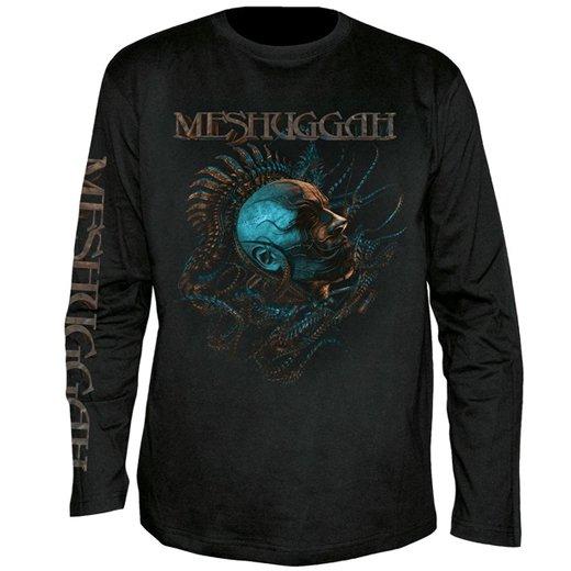 Meshuggah / メシュガー - Head. ロングスリーブTシャツ【お取寄せ】