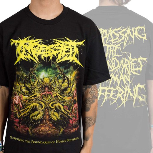 Ingested / インジェステッド - Surpassing The Boundaries Of Human Suffering. Tシャツ【お取寄せ】