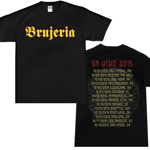 Brujeria / ブルへリア - En Vivo 2016 Tour. Tシャツ【お取寄せ】