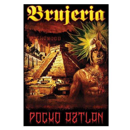Brujeria / ブルへリア - Pocho Aztlan. ポスターフラッグ【お取寄せ】