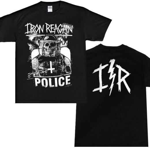 Iron Reagan / アイアン・レーガン - Riot Cop. Tシャツ【お取寄せ】