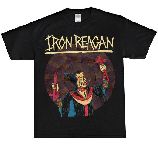 Iron Reagan / アイアン・レーガン - Crossover Ministry. Tシャツ【お取寄せ】
