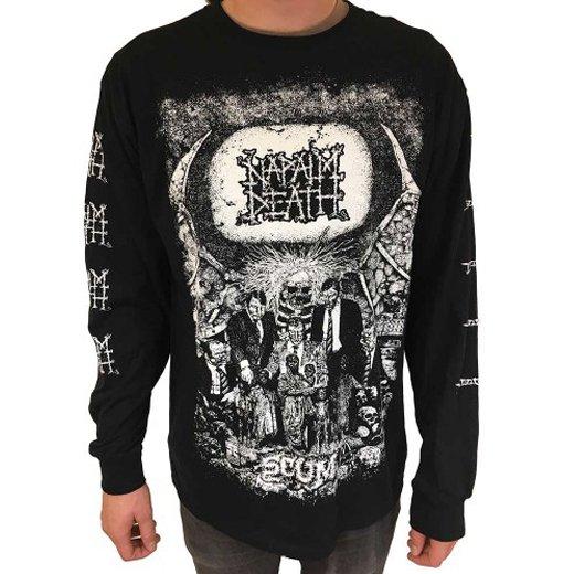 Napalm Death / ナパーム・デス - Scum. ロングスリーブTシャツ【お取寄せ】