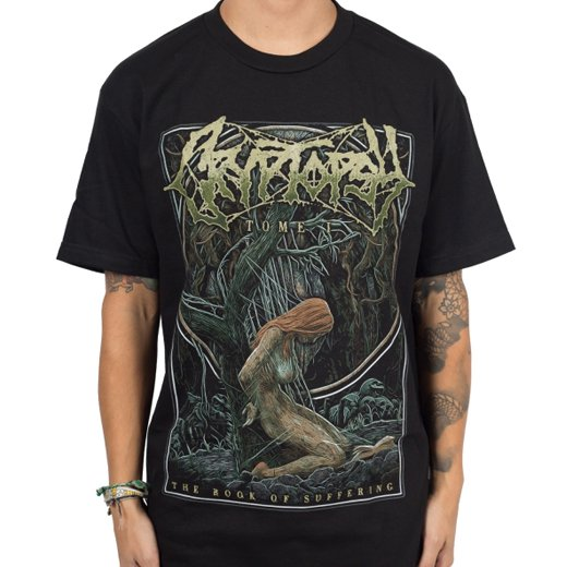 Cryptopsy / クリプトプシー - The Book Of Suffering. Tシャツ【お取寄せ】