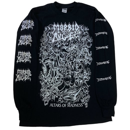 Morbid Angel / モービッド・エンジェル - Altars Of Madness. ロングスリーブTシャツ【お取寄せ】