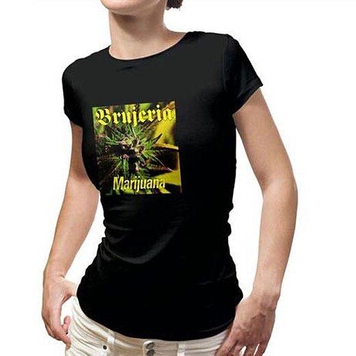 Brujeria / ブルへリア - Marijuana. レディースTシャツ【お取寄せ】