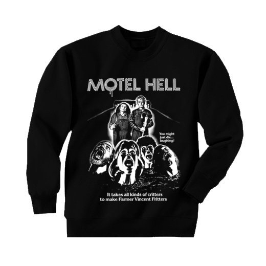 <img class='new_mark_img1' src='//img.shop-pro.jp/img/new/icons1.gif' style='border:none;display:inline;margin:0px;padding:0px;width:auto;' />Motel Hell / 地獄のモーテル. トレーナー【お取寄せ】