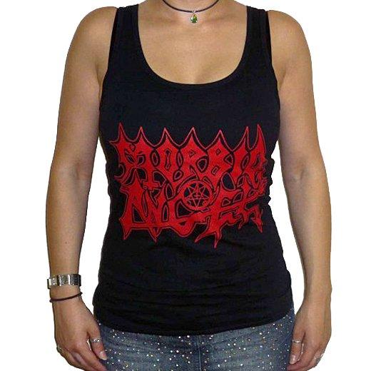Morbid Angel / モービッド・エンジェル - Logo. レディースタンクトップ【お取寄せ】