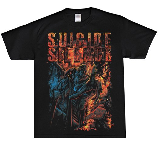 <img class='new_mark_img1' src='//img.shop-pro.jp/img/new/icons1.gif' style='border:none;display:inline;margin:0px;padding:0px;width:auto;' />Suicide Silence / スーサイド・サイレンス - The falling. Tシャツ【お取寄せ】