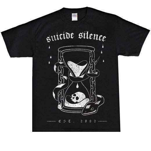 Suicide Silence / スーサイド・サイレンス - Hourglass. Tシャツ【お取寄せ】