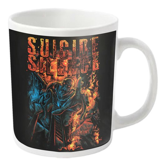 <img class='new_mark_img1' src='https://img.shop-pro.jp/img/new/icons1.gif' style='border:none;display:inline;margin:0px;padding:0px;width:auto;' />Suicide Silence / スーサイド・サイレンス - The falling. マグカップ【お取寄せ】