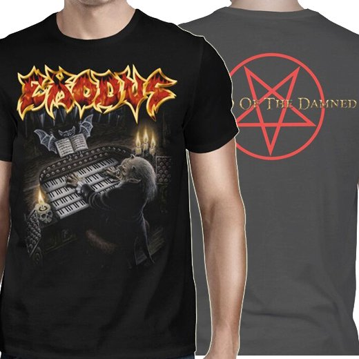 Exodus / エクソダス - Tempo if the Damned. Tシャツ【お取寄せ】