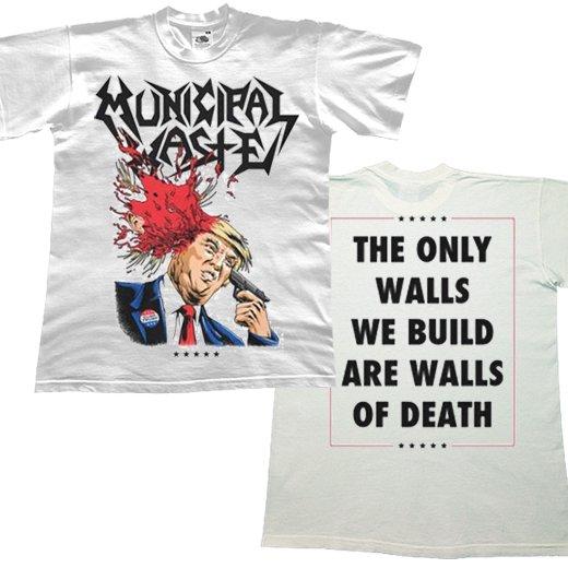 Municipal Waste / ミュニシパル・ウェイスト - Trump. Tシャツ【お取寄せ】